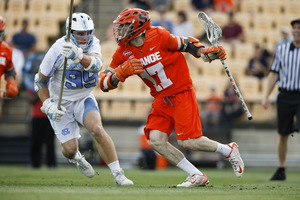Dylan Donahue was the facilitator in Syracuse's offense and led the team in points.