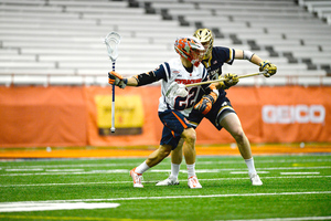 Evans scored three goals against Notre Dame last year. It's such performances that SU needs from its senior attack for a deep run in 2017.